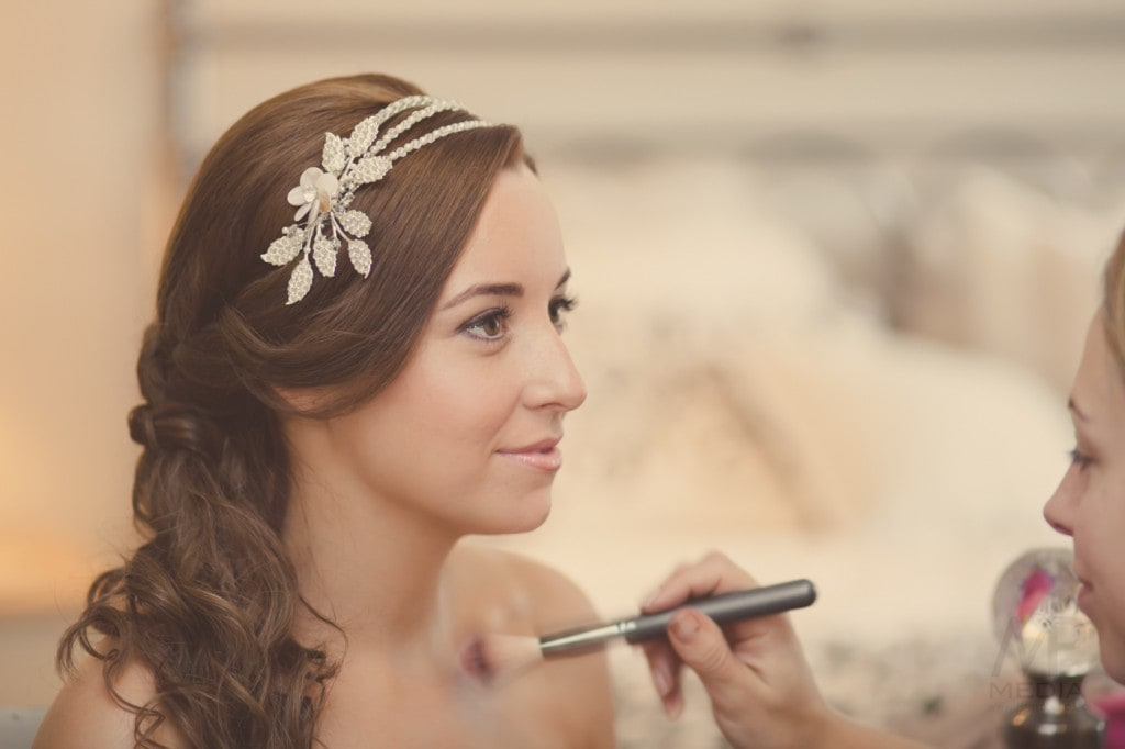 Wedding Make Up at Butterflies by Sarah Byrne